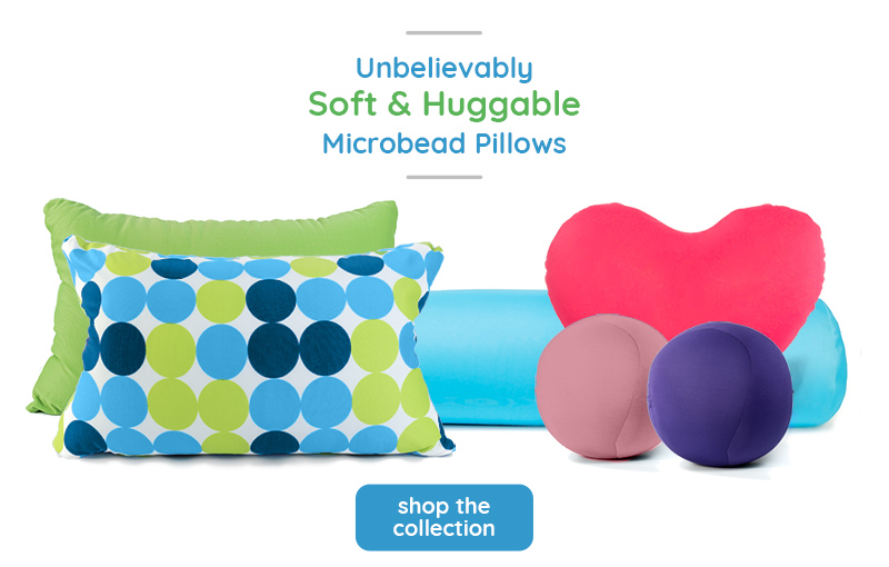 Unbelievably Soft and Huggable Microbead Pillows - Shop Now