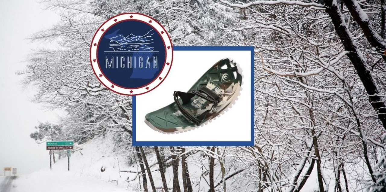 Best Places to Snowshoe in Lower Michigan