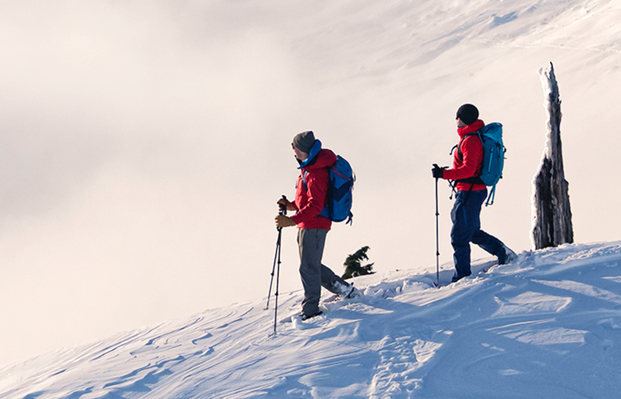 Is Snowshoeing Really Harder Than Hiking?