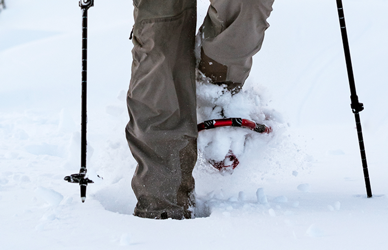 How Far Should You Expect To Sink In Snowshoes?