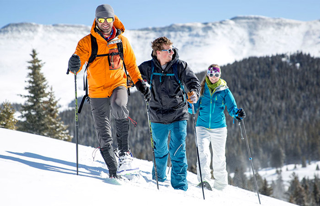 A Guide To Snowshoeing Uphill