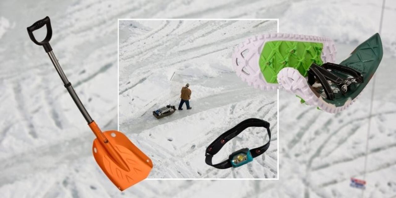 Ice Fishing Snowshoe Kit