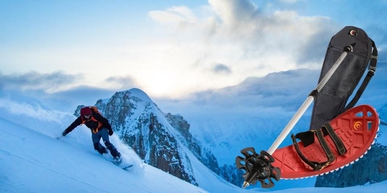 Snowboarding Snowshoe Kit
