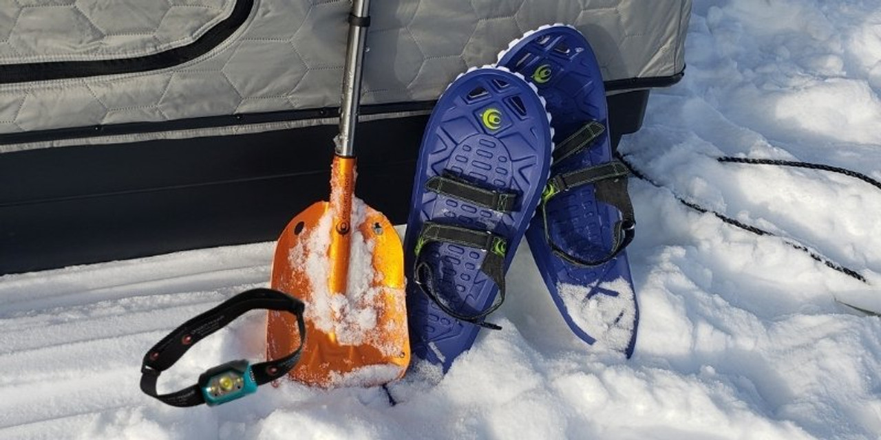 Foam Snowshoes For Ice Fishing