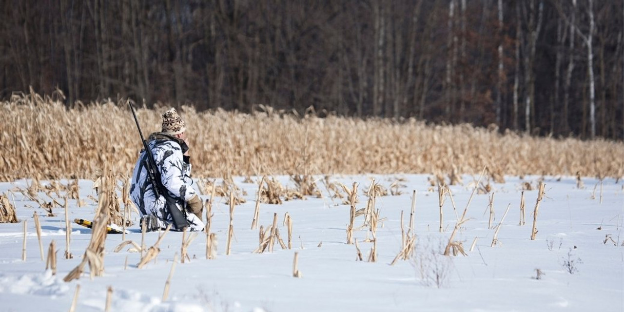Hunting with Snowshoes