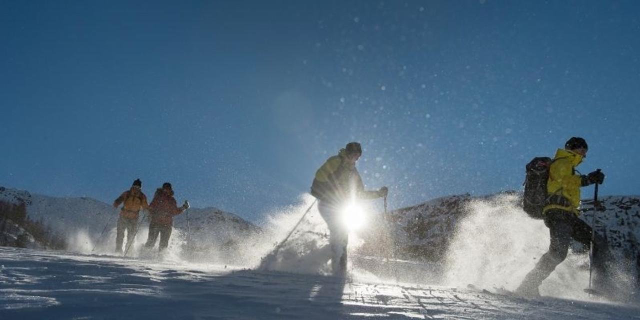 Trail Etiquette When Snowshoeing