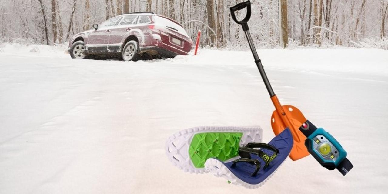 Vehicle Safety Winter Snowshoe Kit