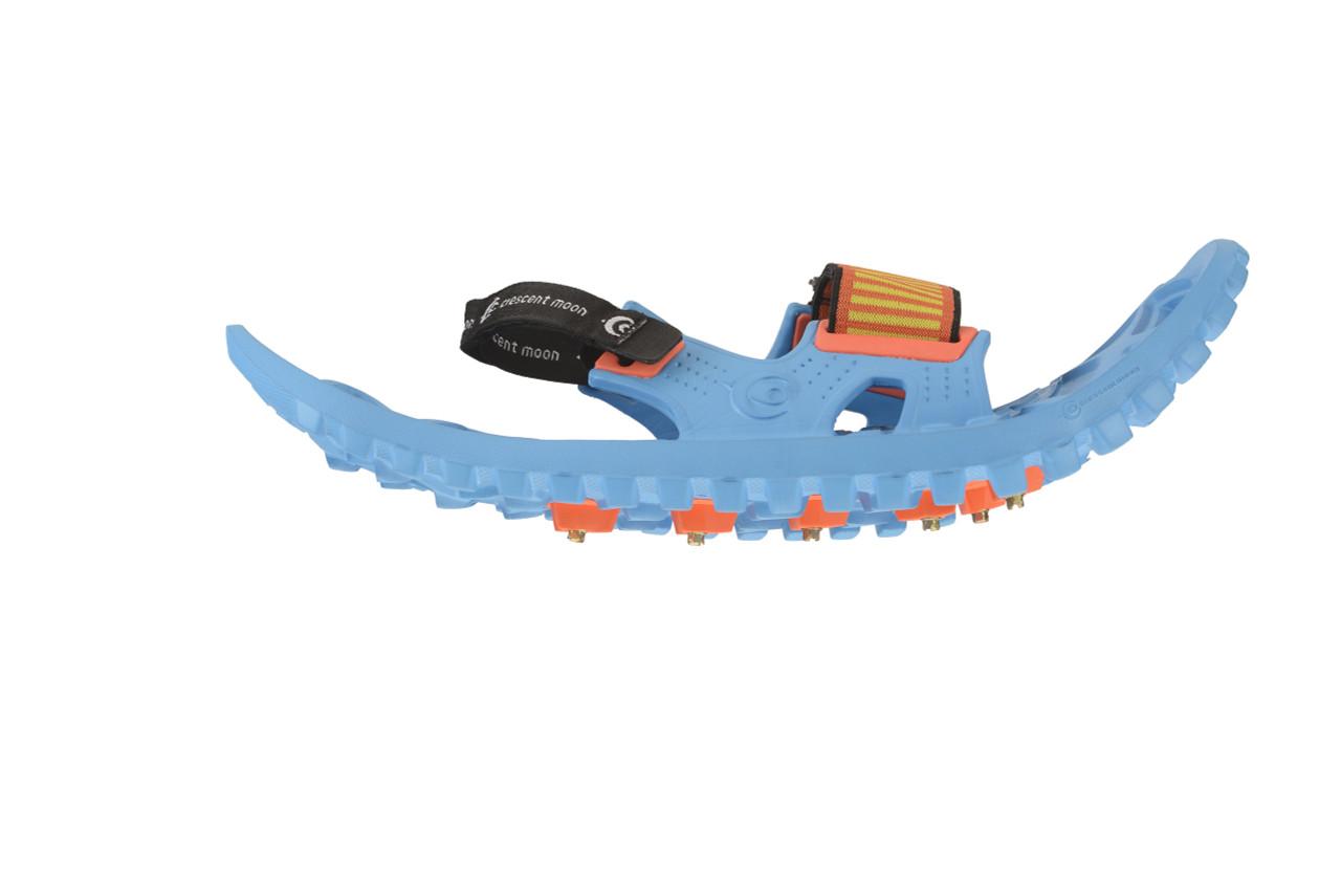 best kids foam snowshoes - ocean blue