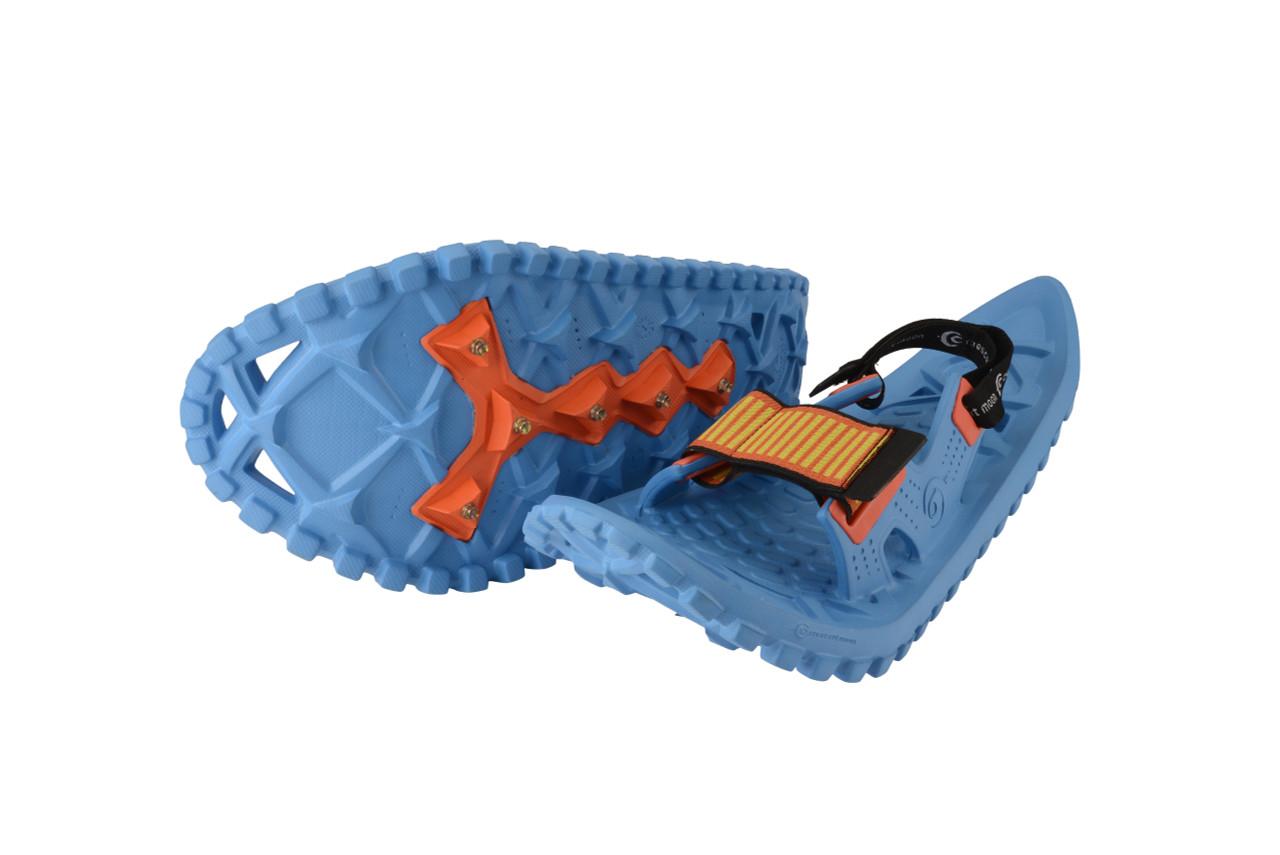Best kids foam snowshoes - ocean blue pair