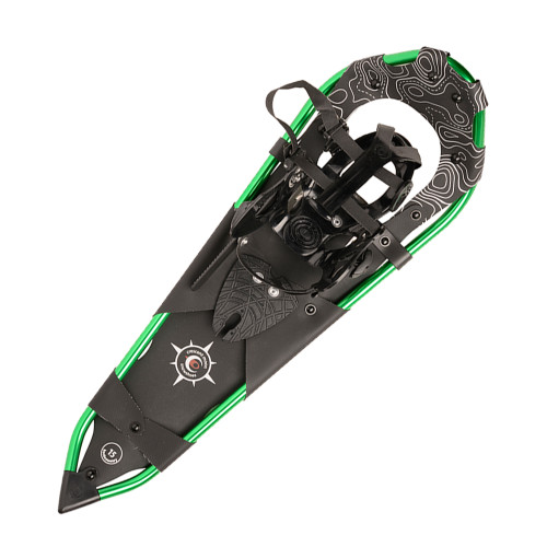 Womens Backcountry Snowshoes  - Gold 15 Green