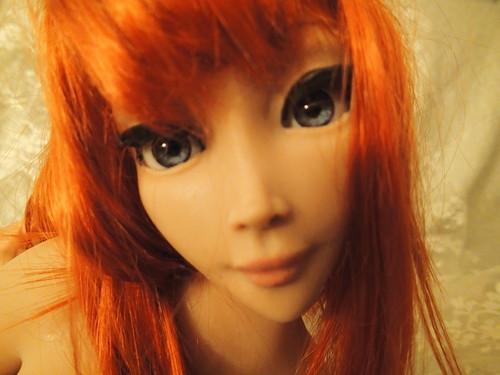 Realistic silicone sex doll