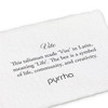 Vite meaning card