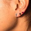 Wisdom stud earring