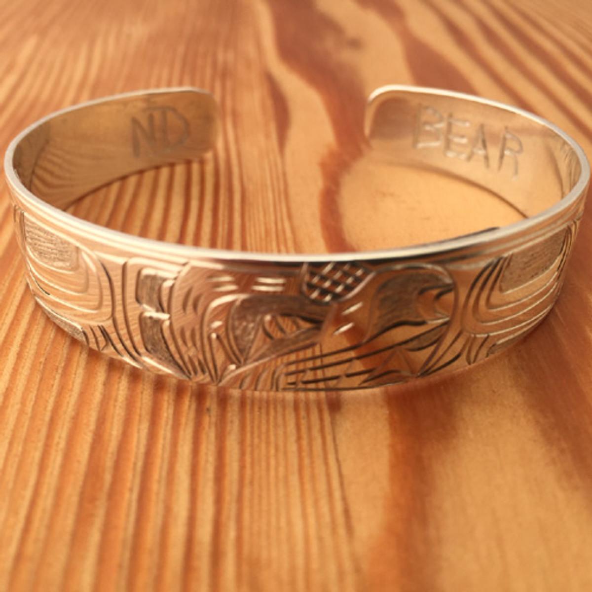 Bear 1/2 inch bracelet