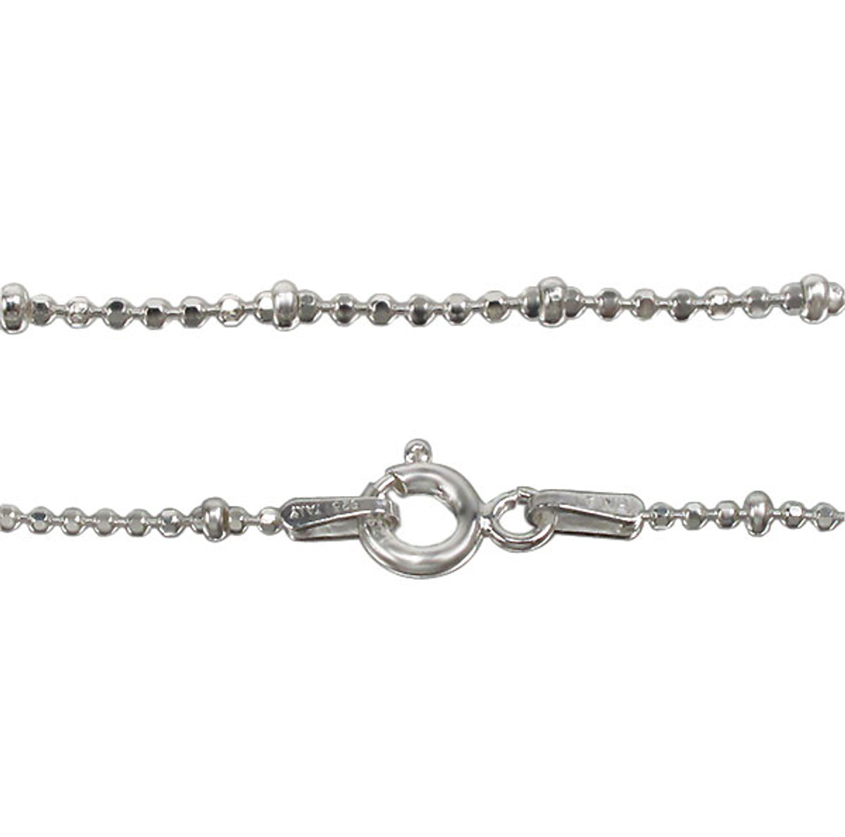 2mm bead anklet -1