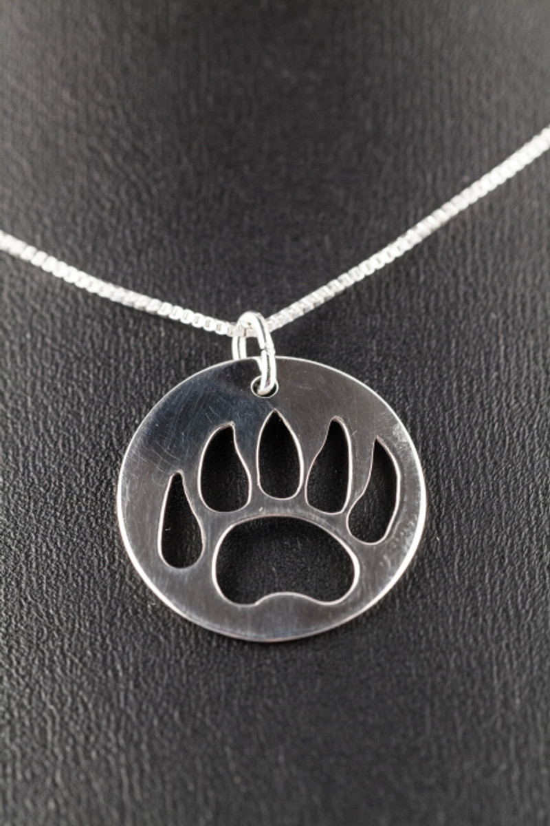 Bear paw necklace