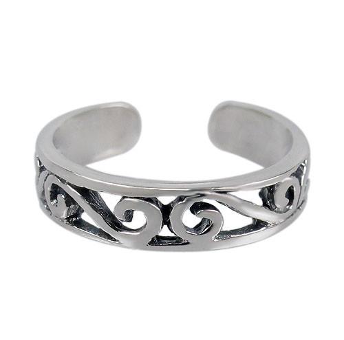 Scroll toe ring