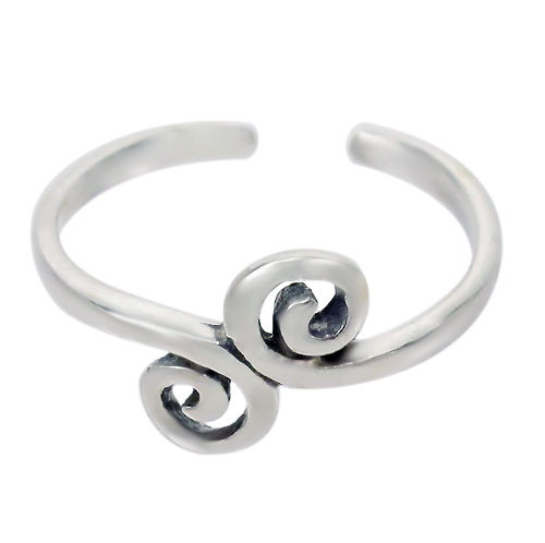Scroll toe ring