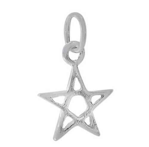 10mm star charm