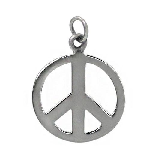 Peace symbol pendant