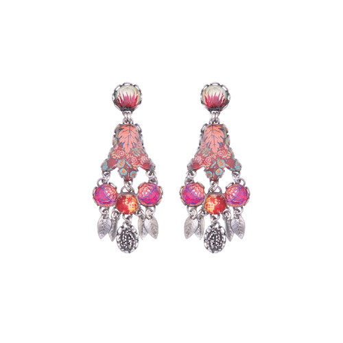 Crimson Dreams post earring