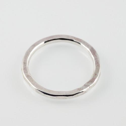 12ga stacking ring-sterling