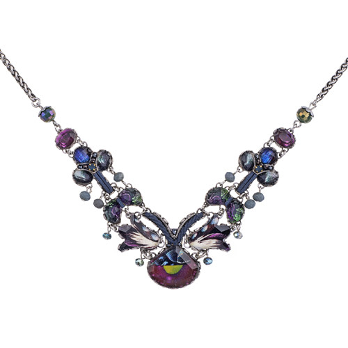 Rain Forest necklace-R3237