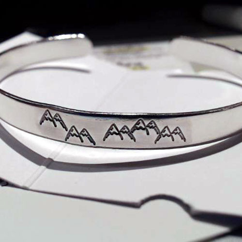 Mountains bracelet