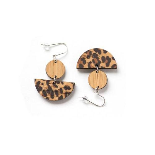 Leopard love part 2 earrings