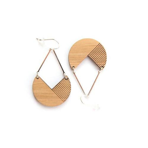 Hale bamboo earrings
