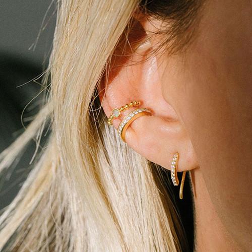 Pave ear cuff