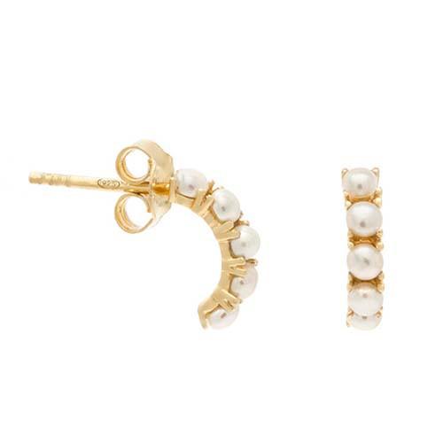 Kusshi half hoop earring