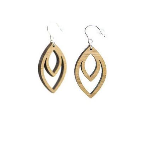 Lewa earrings-bamboo