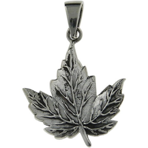 Maple leaf pendant -1