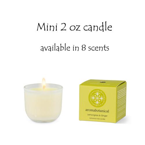 Mini 2 oz candle
