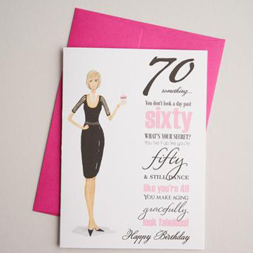 70 something-birthday card