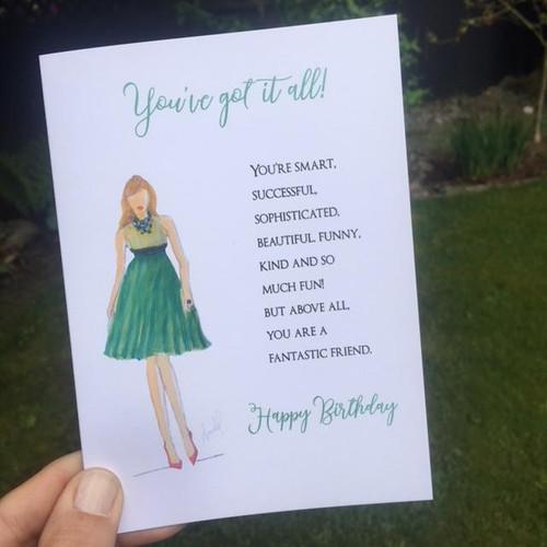 Fantastic-greeting card