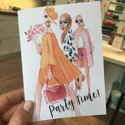 Party time-greeting card