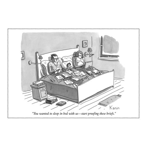 Proofing briefs -greeting card