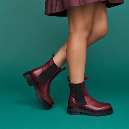 Lizzette boot-bordeaux