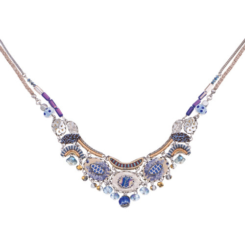 Sapphire Waves necklace