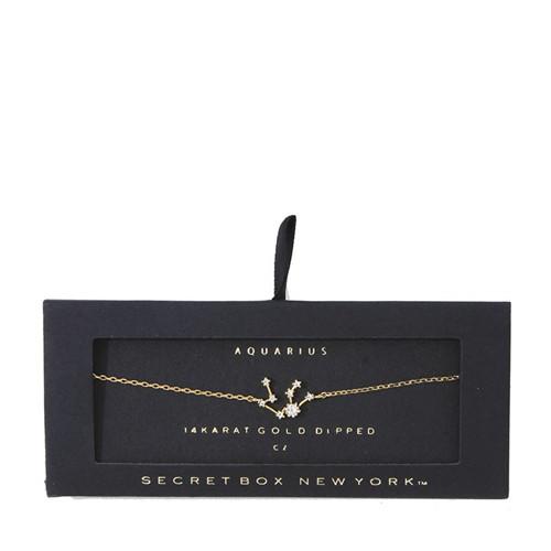 Aquarius bracelet-White gold