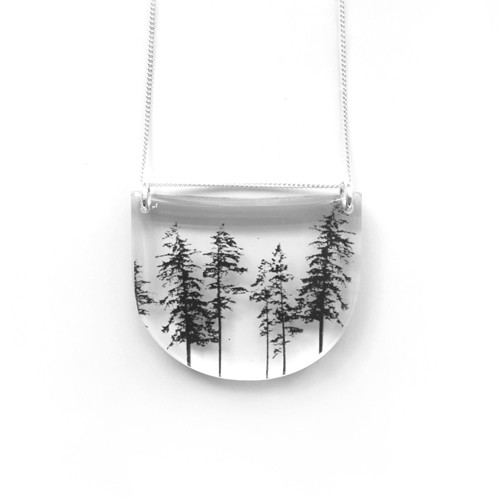 Drop forest pendant