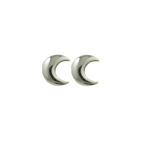 Crescent moon  stud