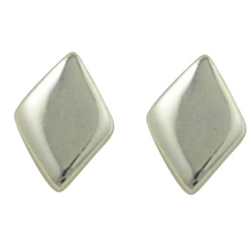 Tiny diamond shaped stud