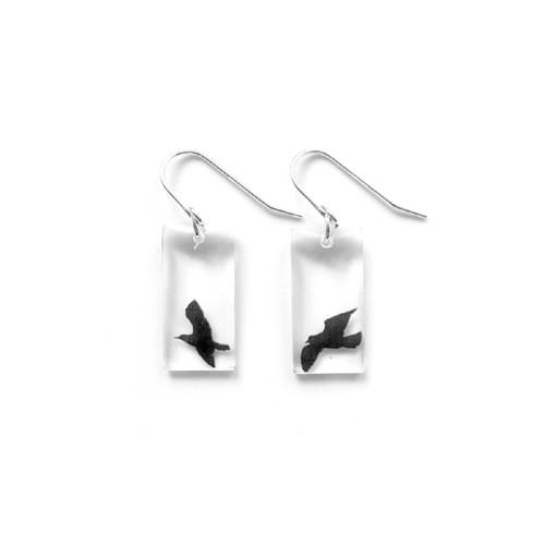 """Small birds earring 3/4"""""""