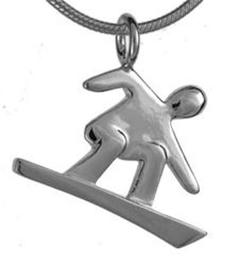Boarder pendant