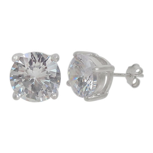 4mm round prong set stud