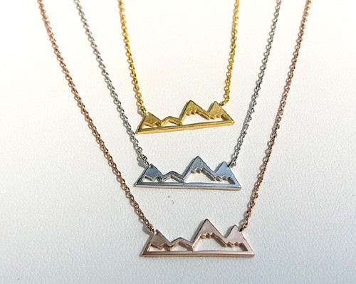 Coast range mountain necklace