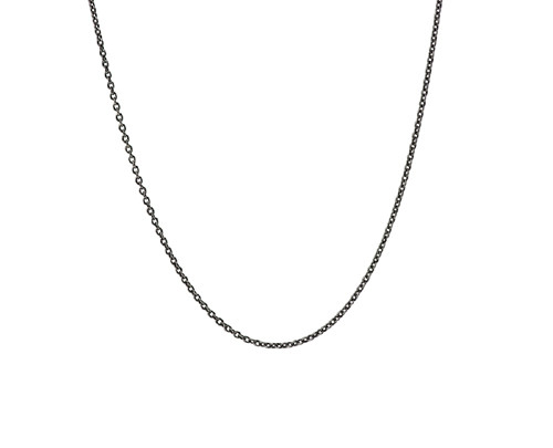 """16"""" blackened cable chain"""